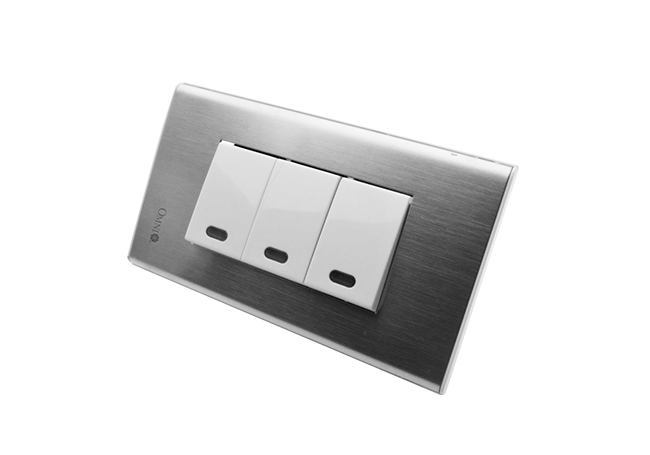 Omni Wide Series Flush Type Switches Outlets
