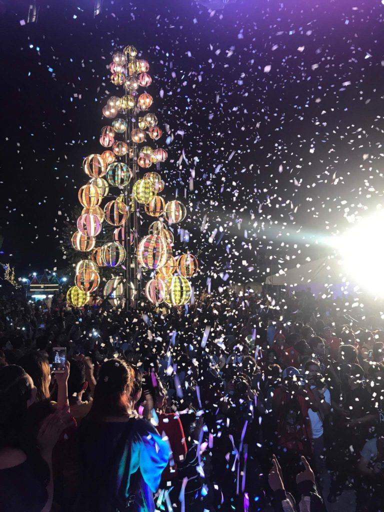 Christmas Tree at Rizal Park, Davao City