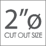 2-o-cut-out-size